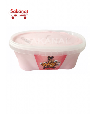 WELY GLACE  BOCAL FRAISE 1L