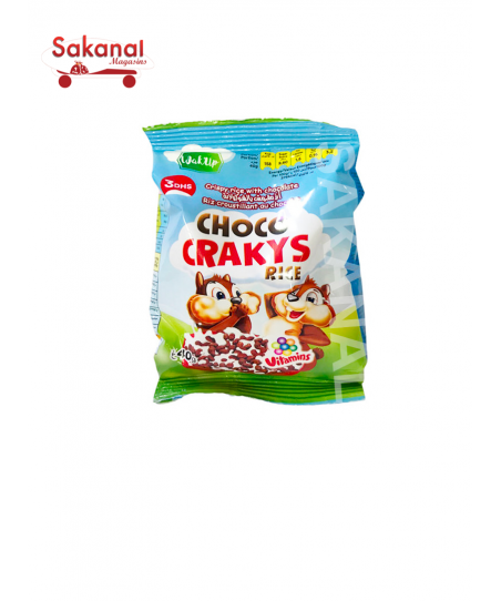 CEREALE CHOCO CRAKYS RICE 40G