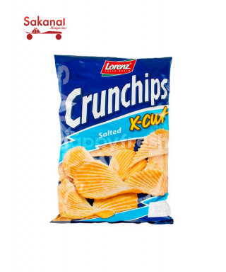 CRUNCHIPS X-CUT SALT 85G