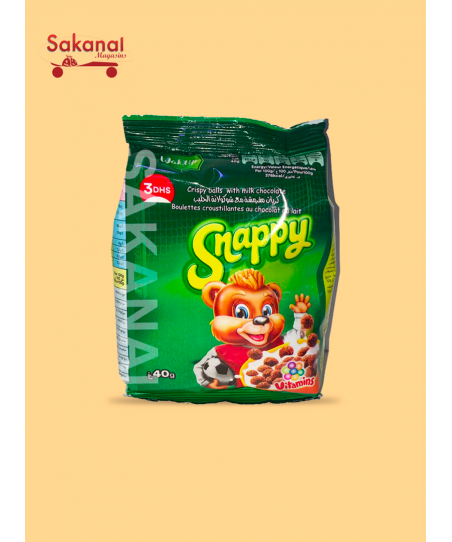 CEREALE SNAPPY CHOCO 40G