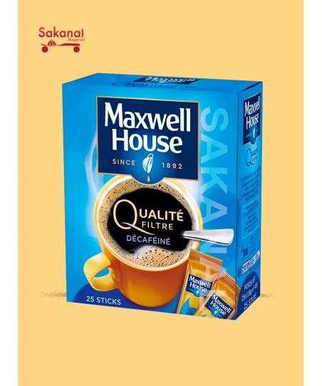 CAFE MAXWELL HOUSE...