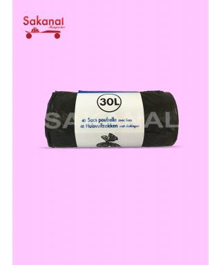 SAC POUBELLE 30LX40
