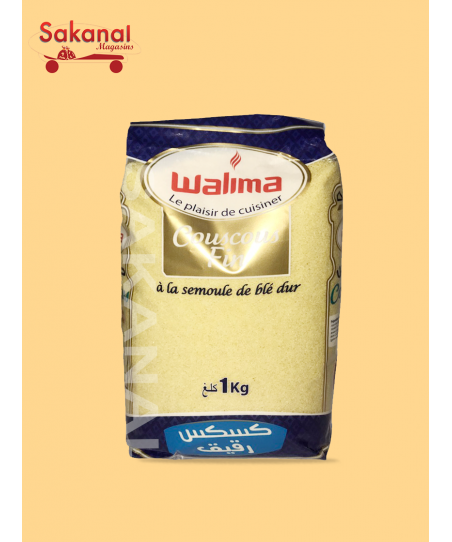 COUSCOUS WALIMA FIN 1KG