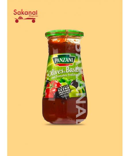 PANZANI SAUCE OLIVE&BASILIC...