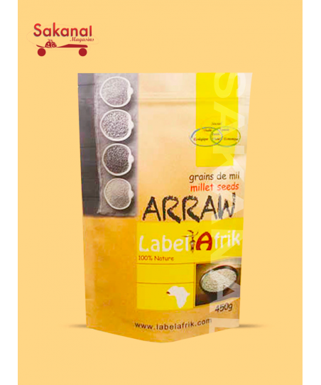 LABEL AFRIK ARRAW DE MIL 400G