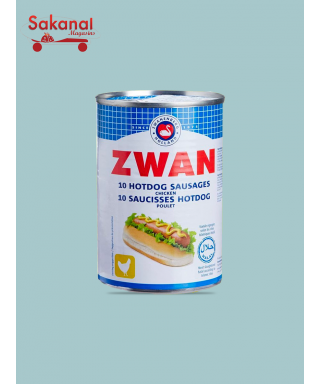 HOT DOG POULET ZWAN 200G