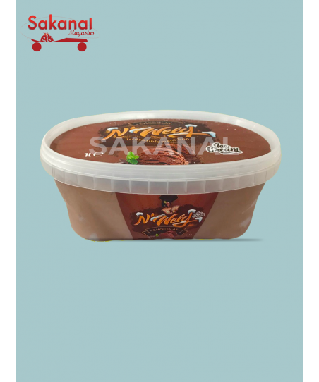 WELY GLACE BOCAL CHOCOLAT 1L